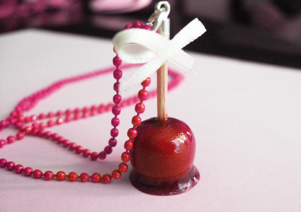 pomme d'amour en fimo