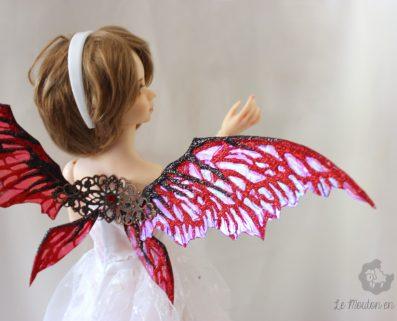 Winges démon rouges