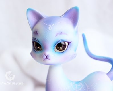 Miaomiao doll family BJD chat animal pet
