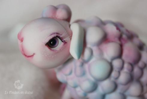 Guimauve le Mouton bjd pet Doll animal