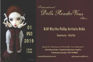 Dolls Rendez-Vous in Paris 2019 @ Fondation Biermans Lapotre | Paris | Île-de-France | France