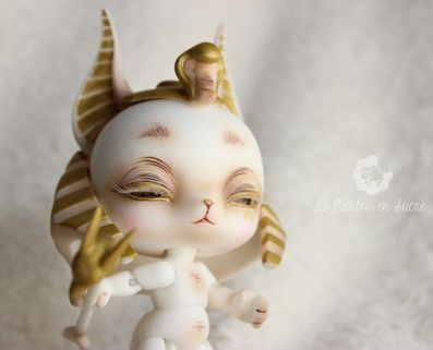 BlackBox Anubis egyptian god Bjd custom pet