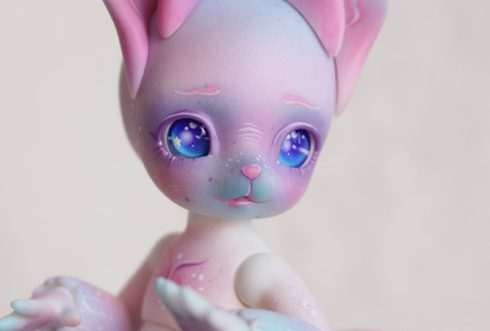 BJD jerboa birdcube gerbil animal pet doll sweet kawai make up