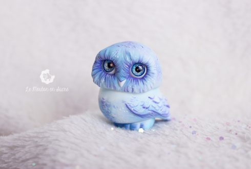anhais studio mini owl bjd pet make up creation artist
