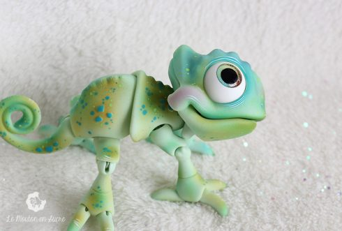 Mojito chameleon bjd pet animal creature artist