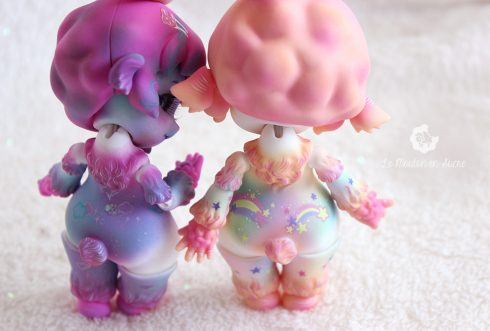 Sio2 bjd bleather sheep pet animal bjd doll rainbow sweet custom make-up creation