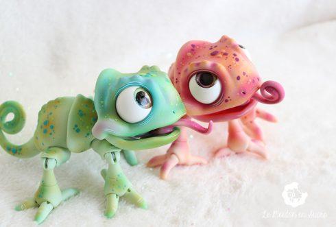 Chameleon doll bjd french creator le mouton en sucre