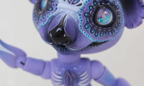 Linus koala twilight soul bjd animal calavera