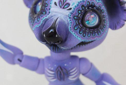 Linus koala twilight soul bjd animal calavera