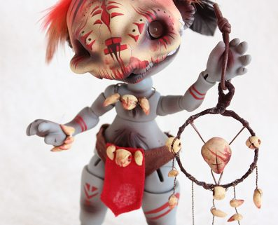 Koala linus twilight soul dolls custom makeup artist creation outfit vodoo zoulou chaman creature pet animal bjd doll