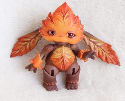 Bjd mossling goblin tales doll leaf forest creature bjd artist