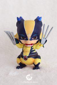 PlaPico aileendoll custom artist bjd doll pet dragon Wolverine