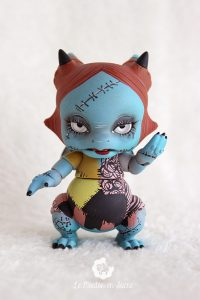 PlaPico aileendoll custom artist bjd doll pet dragon Sally