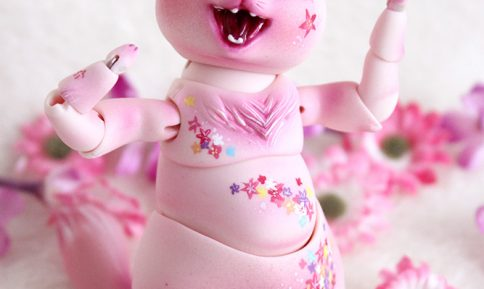 Nympheasdolls cat brioche mini-brioche pet doll bjd animal creature make-up
