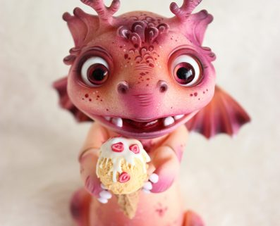 doumat dragon cloverdolls bjd doll creature animal pet
