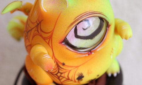 Maru Fingertip dreamland bjd doll cat halloween cyclops spider web