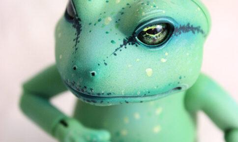 mr ropuha toad whispering grass green animal pet doll bjd natural