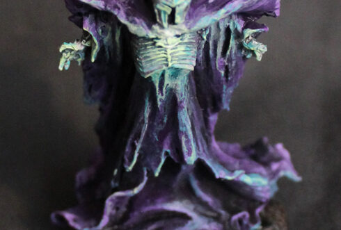 Warhammer lord of the ring Sauron the Necromant painting
