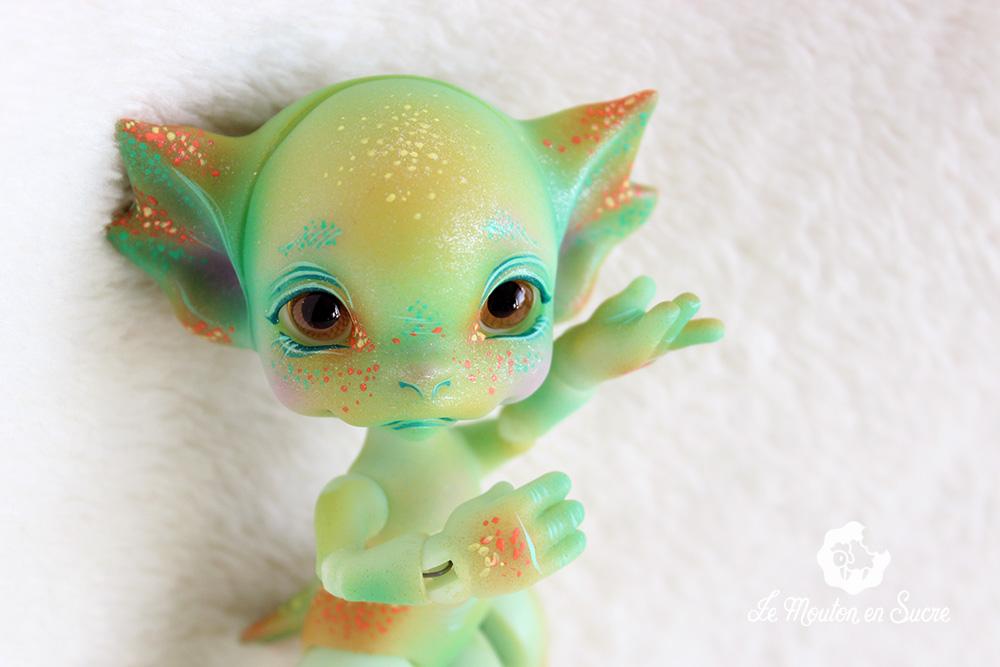 wenny bjd doll dragon mishi's doll pumpkin autumn artist creature