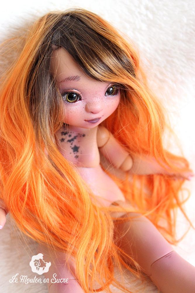 cerise la compagnie des radis yosd doll bjd resin artist makeup faceup custom