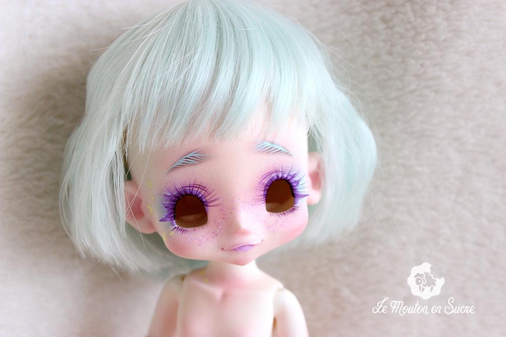 Kiki kinokojuice bjd doll rainbow cute manga girl